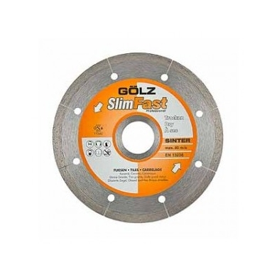 Disco diamantado SLIM FAST 115 mm GOLZ