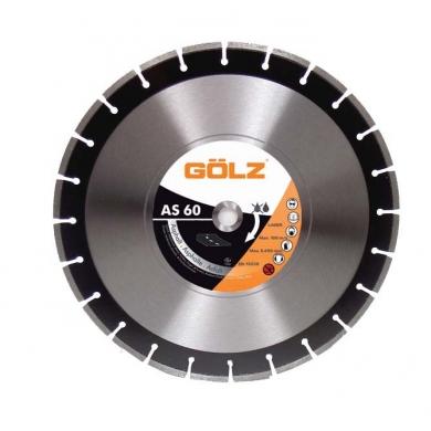 Hoja de sierra diamantada AS 60 451 mm  GOLZ